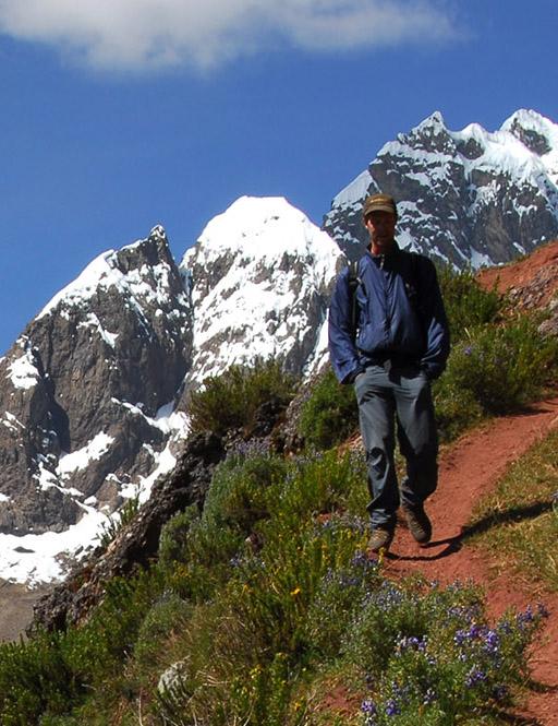 Trekking in the Cordillera Huayhuash